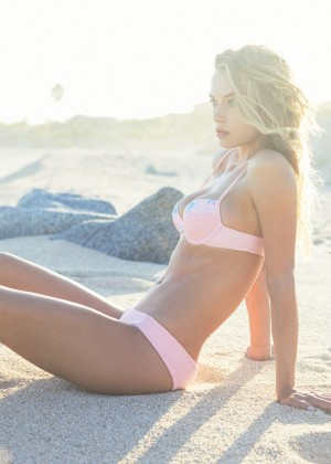Hannah Ferguson: Tori Praver Swimwear 2016 -01