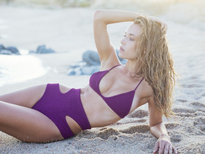 Hannah Ferguson: Tori Praver Swimwear 2016 -19