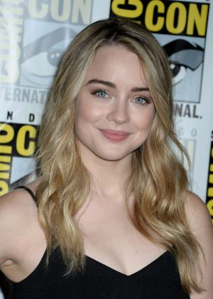 Hannah Kasulka - 'The Exorcist' Press Line at Comic-Con International in San Diego