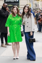 Hannah Murray and Marianne Rendon - Arrives at AOL Build Series in New York City
