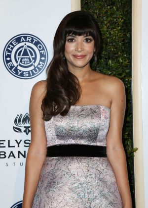 Hannah Simone - 10rh Annual Art of Elysium Heaven Gala in Los Angeles