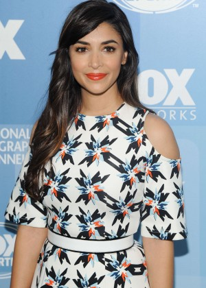 Hannah Simone - 2015 FOX Programming Presentation in NYC