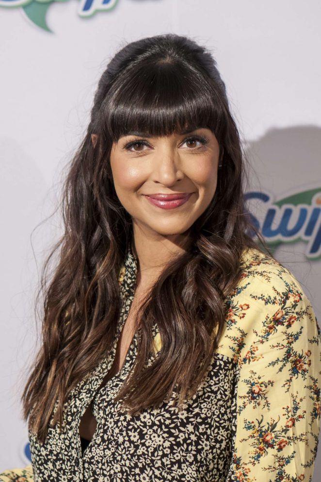 Hannah Simone at Swiffer's 18th Birthday celebration in New York City