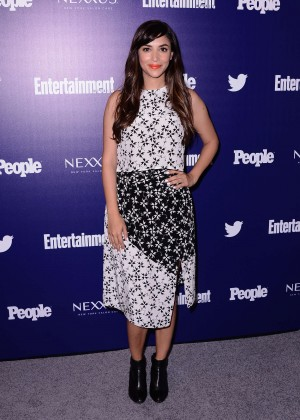 Hannah Simone - Entertainment Weekly And PEOPLE Celebrate The NY Upfronts in NY