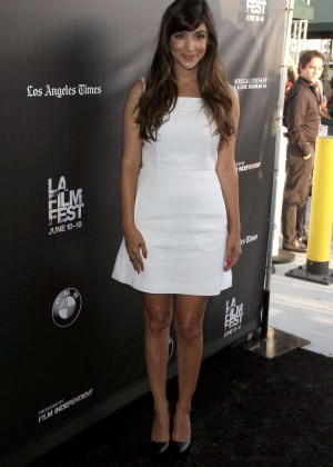 Hannah Simone - 'Flock Of Dudes' Premiere at 2015 LA Film Festival