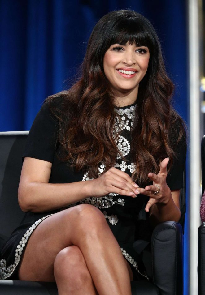 Hannah Simone - FOX 'New Girl' TV Show Panel in LA