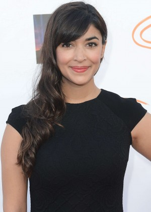 Hannah Simone - Lupus LA Orange Ball And A Night Of Superheroes in Century City