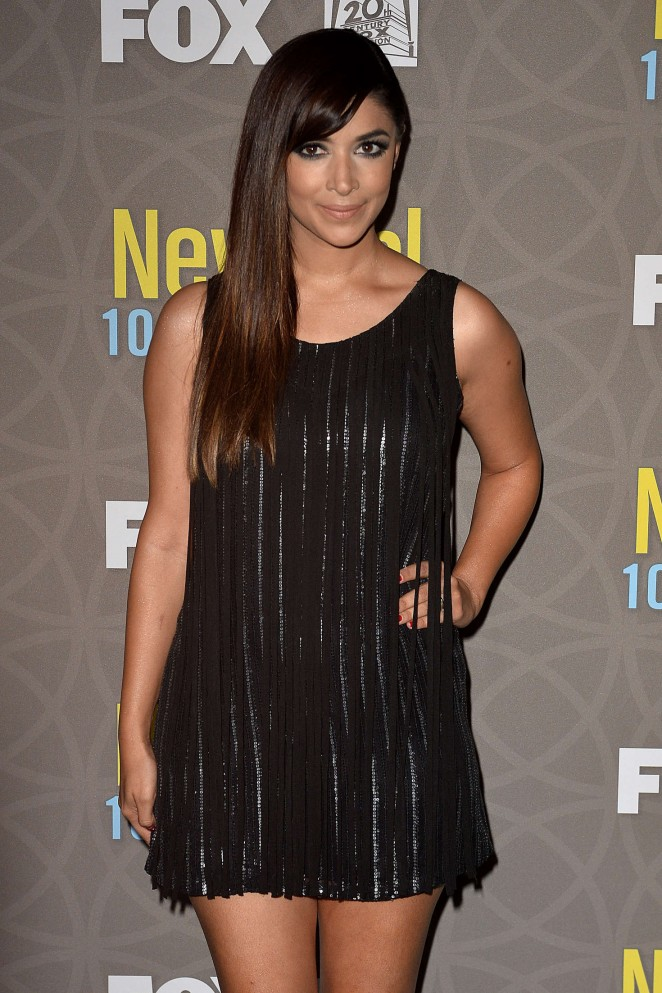 Hannah Simone - 'New Girl' 100th Episode Party in Beverly Hills