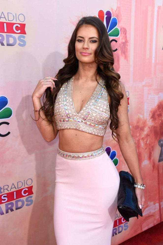 Hannah Stocking - 2015 iHeartRadio Music Awards in Los Angeles