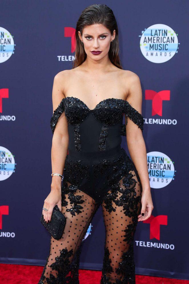 Hannah Stocking - 2018 Latin American Music Awards in Los Angeles