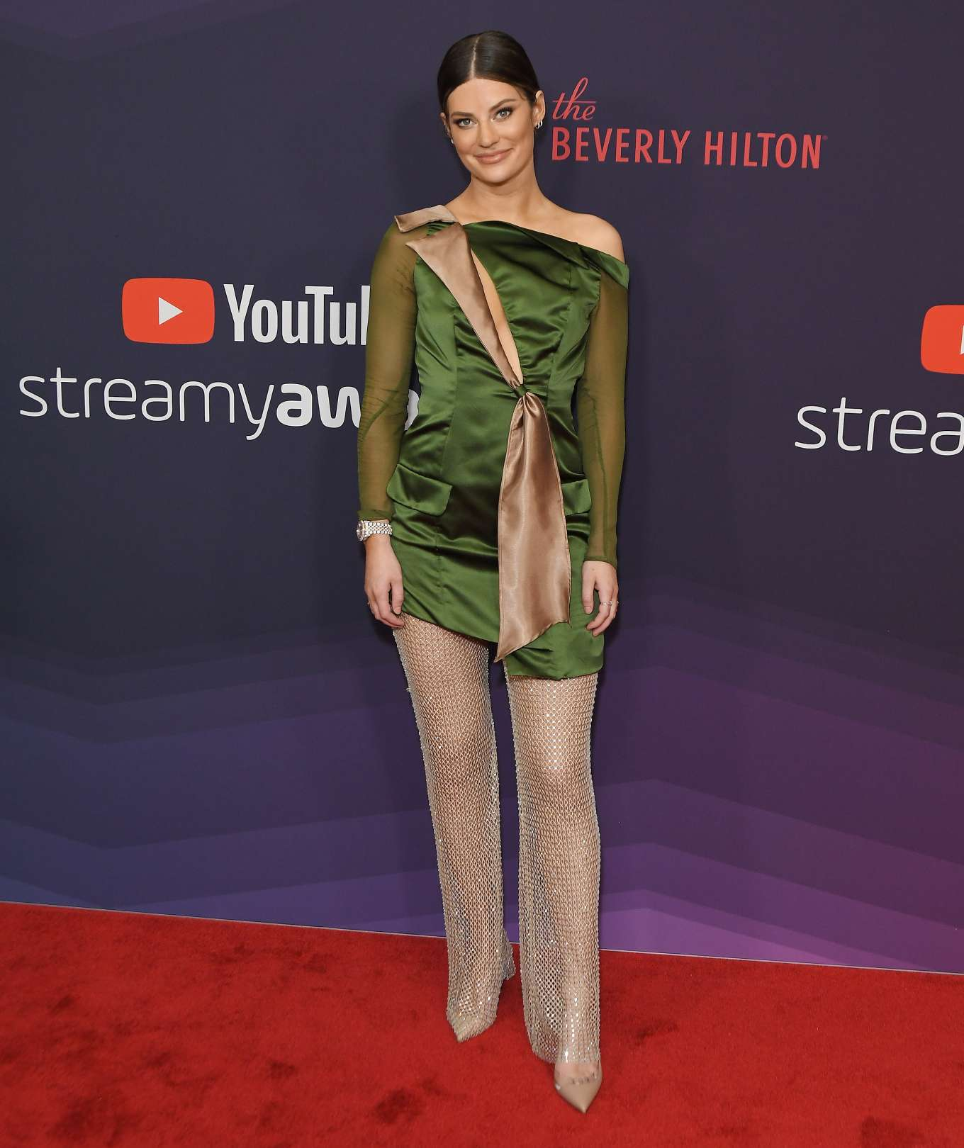 Hannah Stocking - 2019 Streamy Awards in Los Angeles