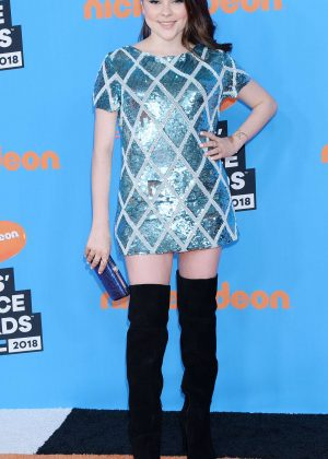 Hannah Zeile - 2018 Nickelodeon Kids' Choice Awards in Los Angeles