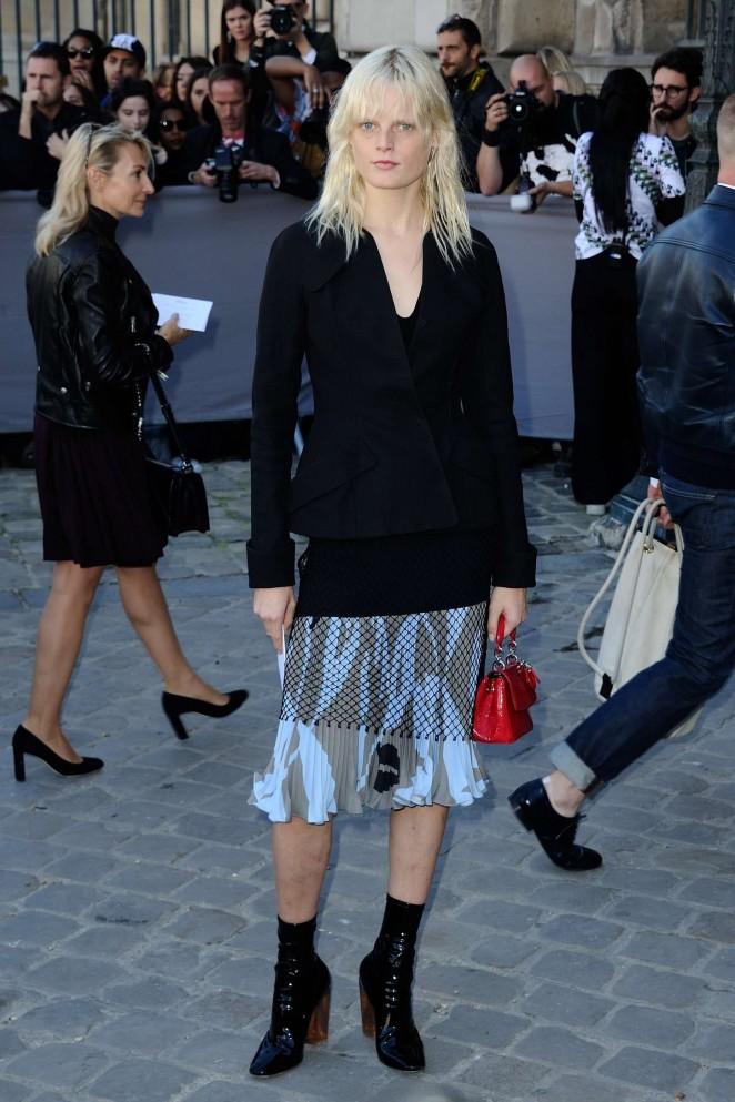 Hanne Gaby Odiele: Christian Dior Show -01