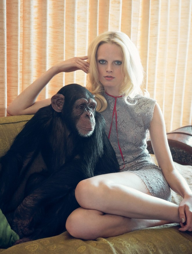 Hanne Gaby Odiele – Numero Magazine (August 2015)