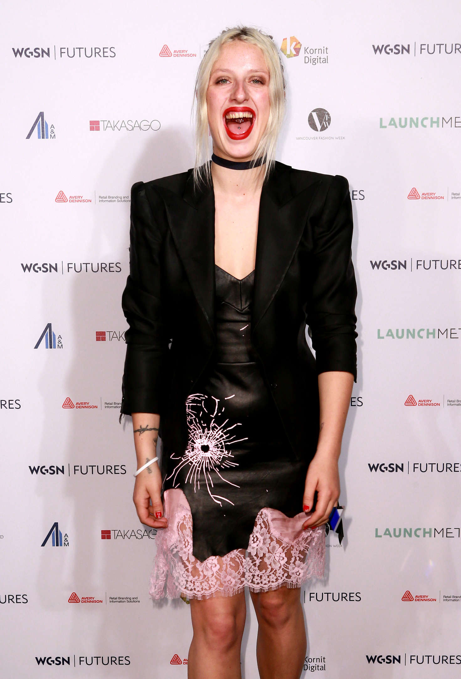 Harriet Verney - WGSN Futures Awards 2016 in London