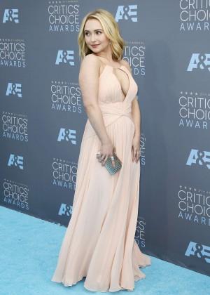Hayden Panettiere: 2016 Critics Choice Awards -04