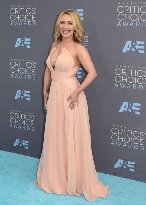 Hayden Panettiere: 2016 Critics Choice Awards -06