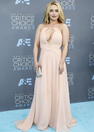 Hayden Panettiere - 2016 Critics' Choice Awards in Santa Monica