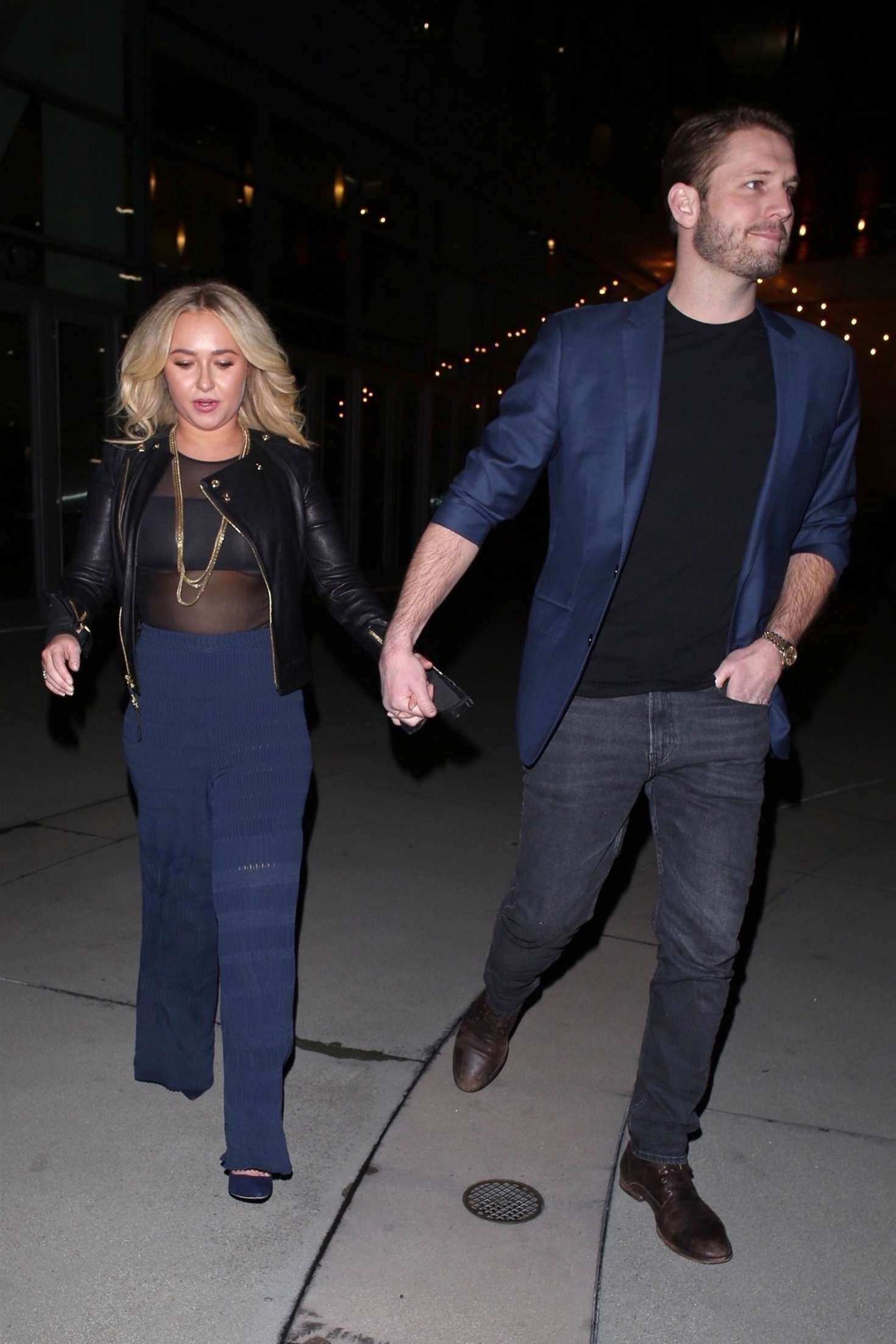 Hayden Panettiere 2019 : Hayden Panettiere and Brian Hickerson: Night out in Hollywood -01