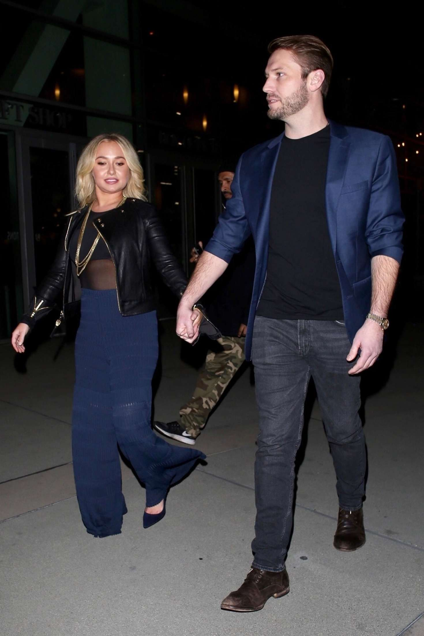 Hayden Panettiere 2019 : Hayden Panettiere and Brian Hickerson: Night out in Hollywood -06
