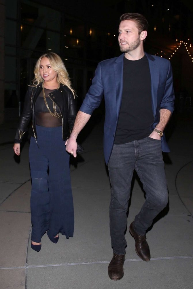 Hayden Panettiere 2019 : Hayden Panettiere and Brian Hickerson: Night out in Hollywood -09