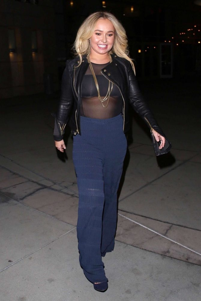 Hayden Panettiere 2019 : Hayden Panettiere and Brian Hickerson: Night out in Hollywood -10