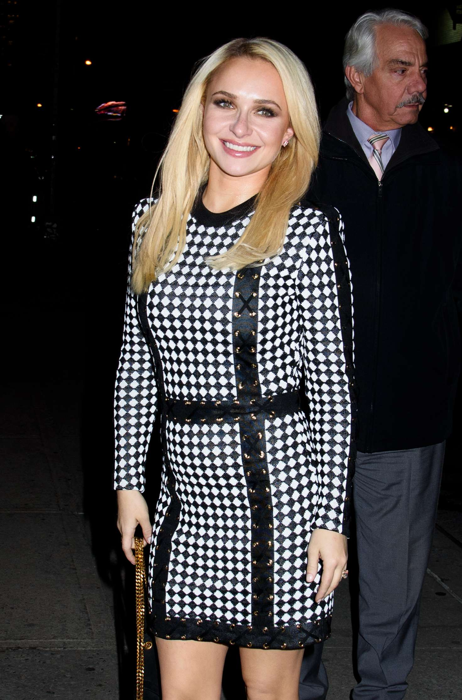 Hayden Panettiere - Arriving to Late Show With Stephen Colbert in New York