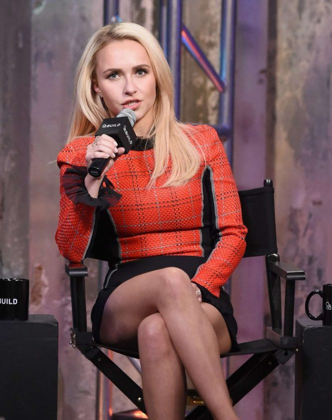 Hayden Panettiere at AOL's Build Speaker Series in New York
