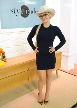 Hayden Panettiere on Amazon's Style Code Live in New York City