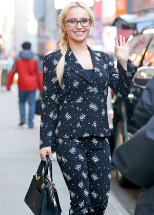 Hayden Panettiere Out and about in New York City