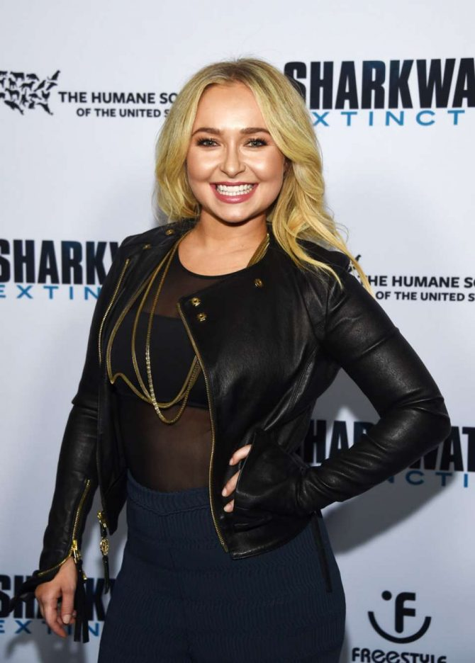 Hayden Panettiere – 'Sharkwater Extinction' Screening in Hollywood