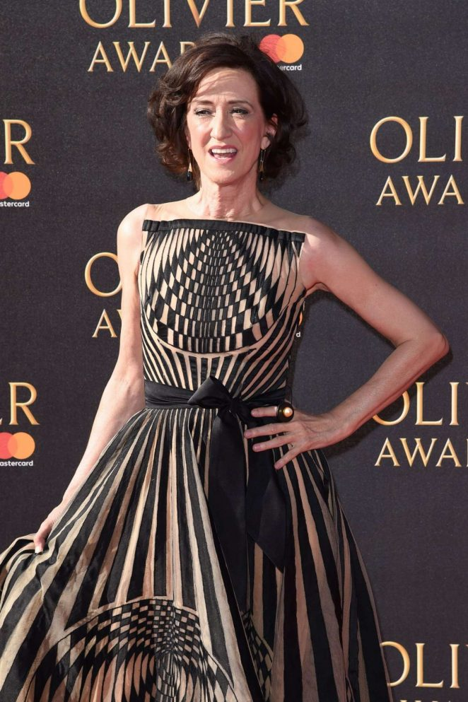 Haydn Gwynne - 2017 Olivier Awards in London