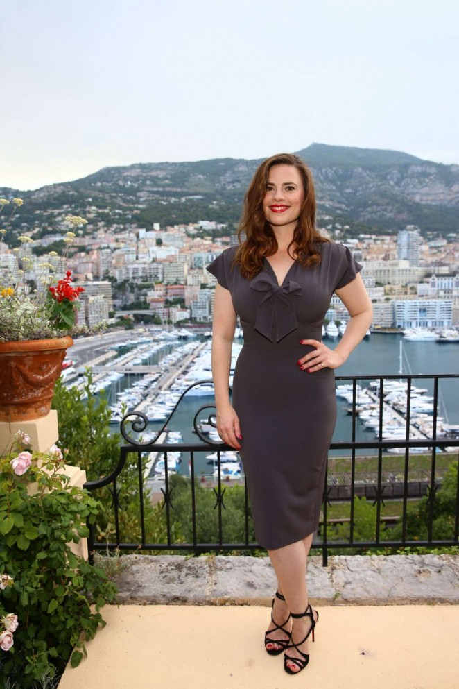 Hayley Atwell - 2015 Monte Carlo Television Festival Cocktail Party in Monte Carlo