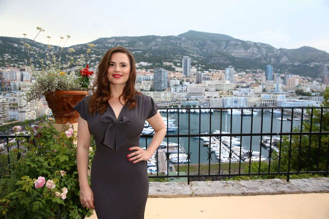 Hayley Atwell 2015 : Hayley Atwell: 2015 Monte Carlo Television Festival Cocktail Party -02
