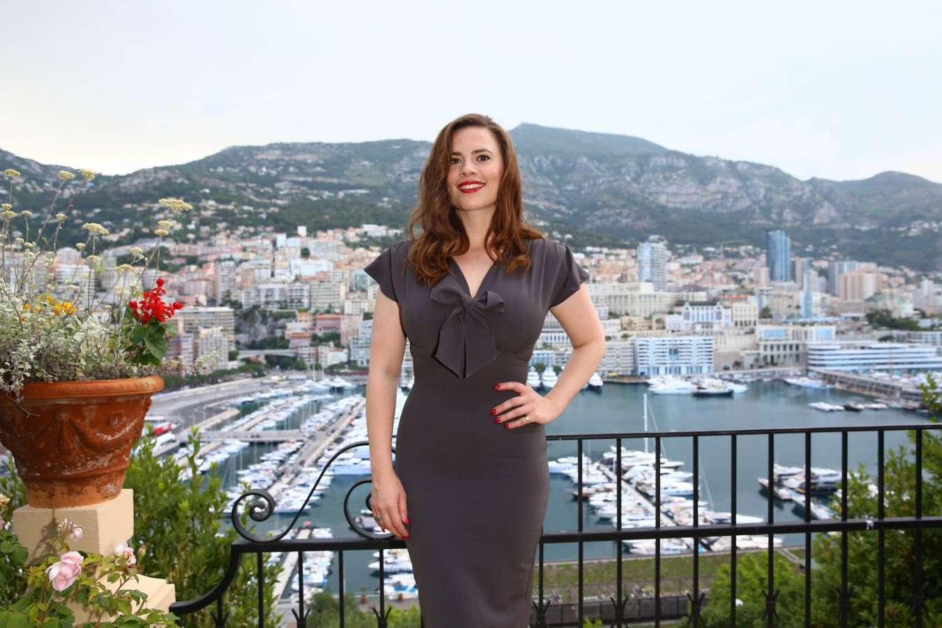 Hayley Atwell 2015 : Hayley Atwell: 2015 Monte Carlo Television Festival Cocktail Party -03