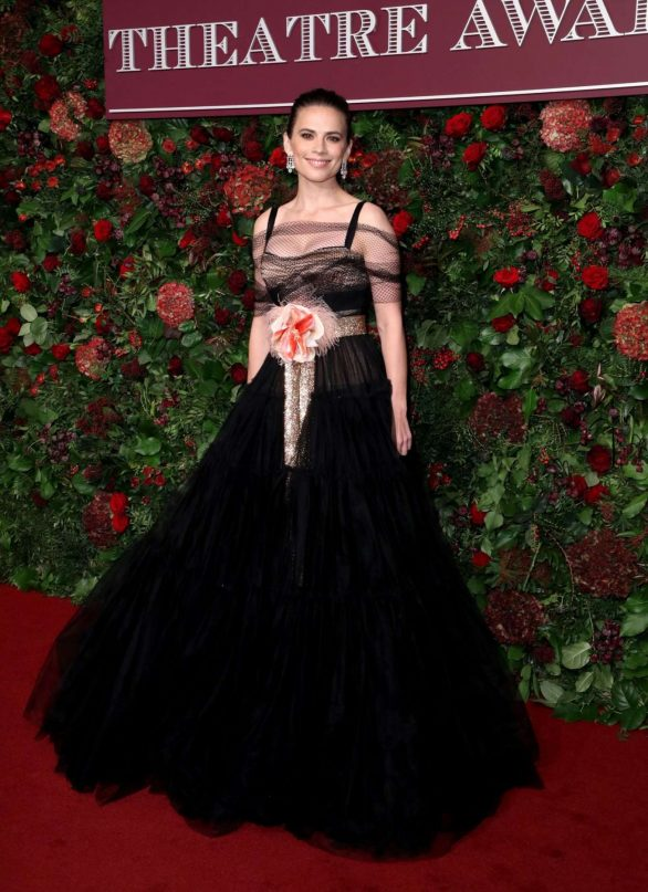 Hayley Atwell - 2019 Evening Standard Theatre Awards in London