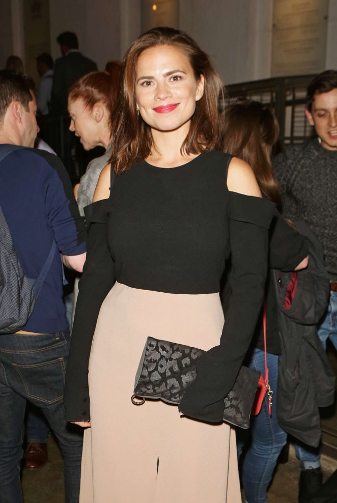 Hayley Atwell - 'Against' Press Night After Party in London