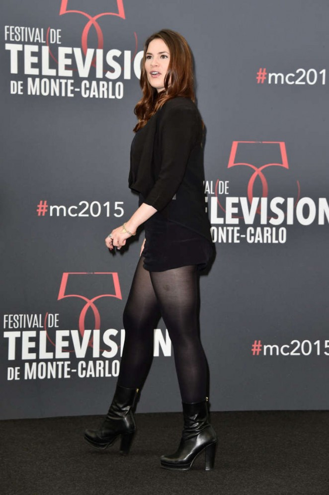 Hayley Atwell - 'Agent Carter' Photocall at 2015 Monte Carlo TV Festival in Monte Carlo