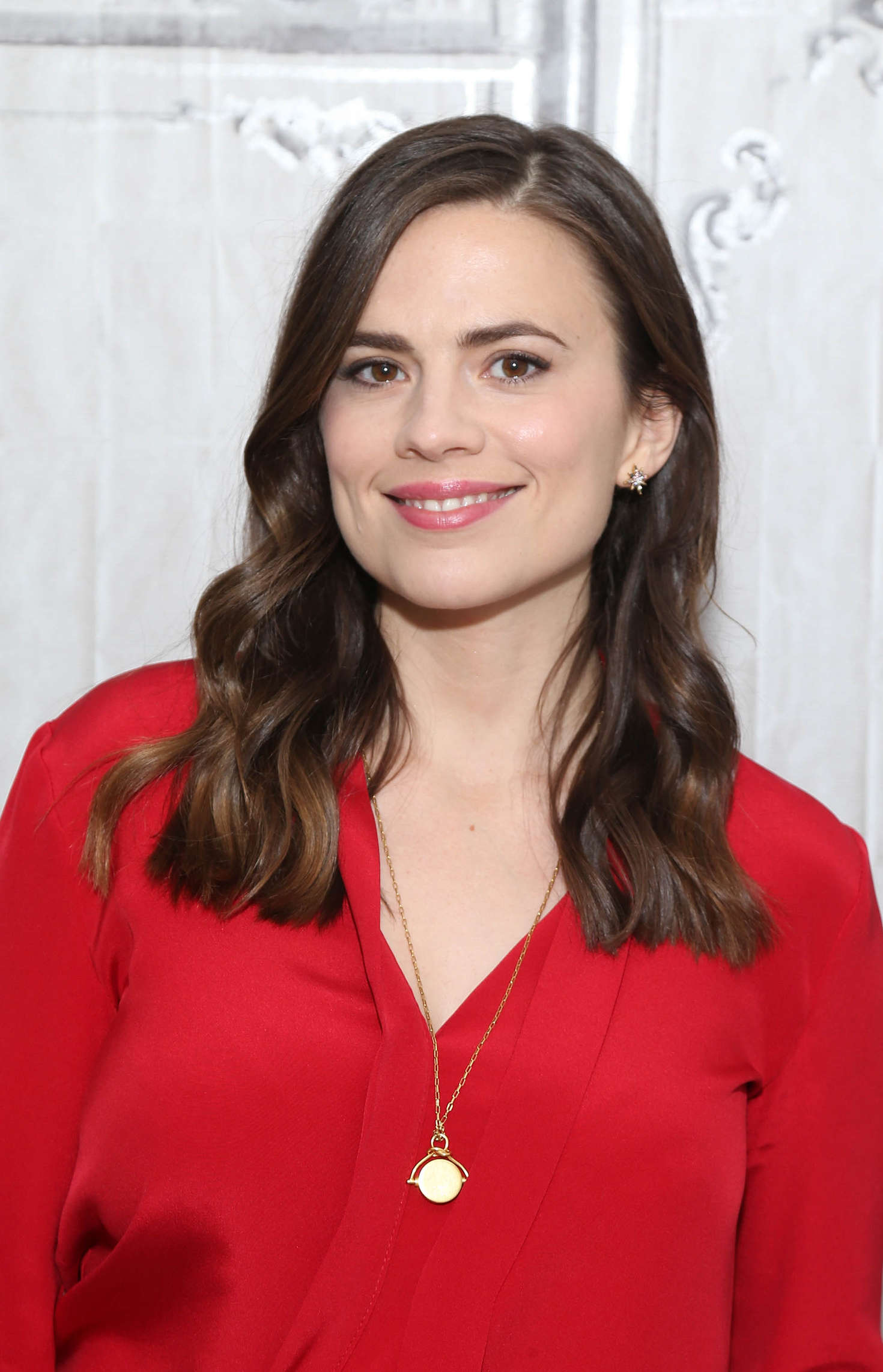 Hayley Atwell - AOL Build Speaker Series in New York City