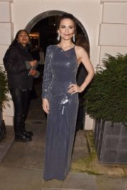Hayley Atwell - Arrives at Dunhill & Dylan Jones Pre-BAFTA Dinner in London