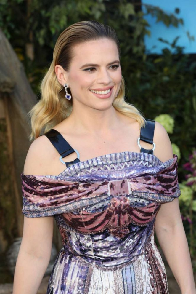 Hayley Atwell - 'Christopher Robin' Premiere in London