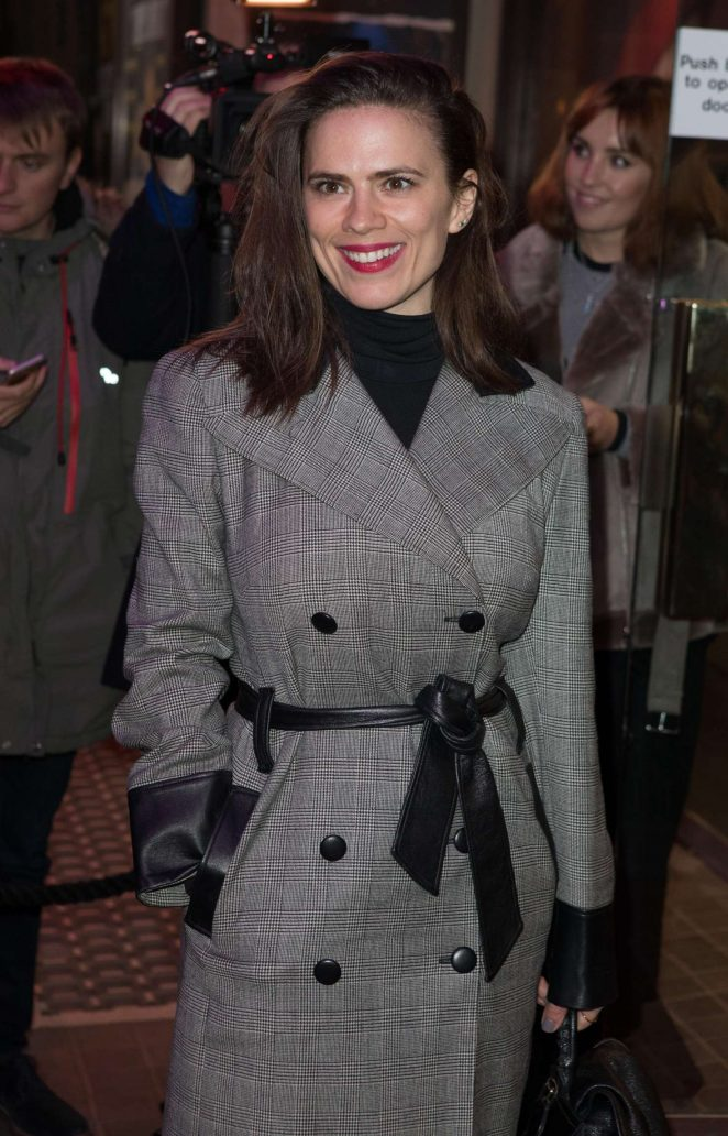 Hayley Atwell - 'Good Girl' Press Night in London