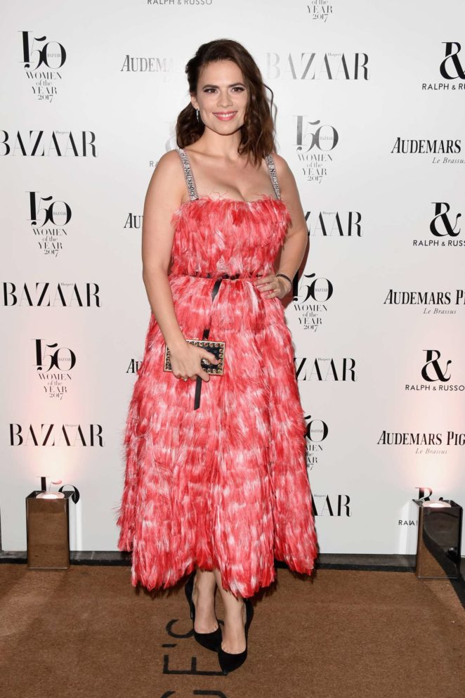 Hayley Atwell - Harper's Bazaar Woman of the Year Awards in London