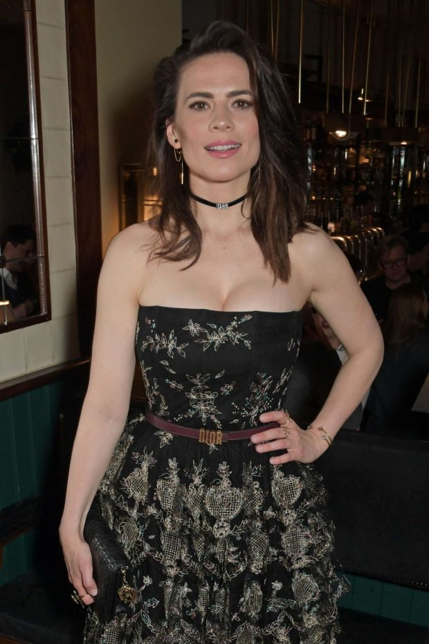 Hayley Atwell - 'Rosmersholm' Press Night After Party in London