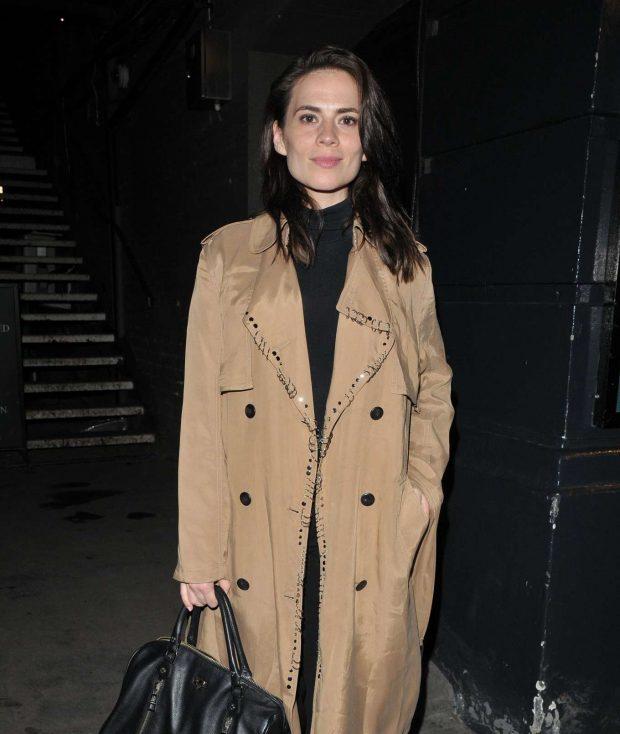Hayley Atwell - Rosmersholm theatre cast departures in London
