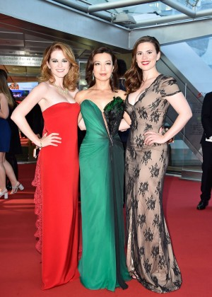 Hayley Atwell, Sarah Drew & Ming-Na Wen - Closing Ceremonies at 2015 Monte Carlo TV Festival in Monaco