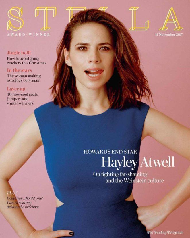 Hayley Atwell - Stella UK Magazine (November 2017)