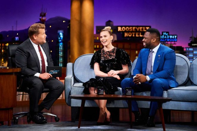 Hayley Atwell - 'The Late Late Show with James Corden' in New York