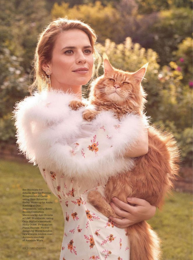 Hayley Atwell - Town & Country Magazine (Fall 2018)