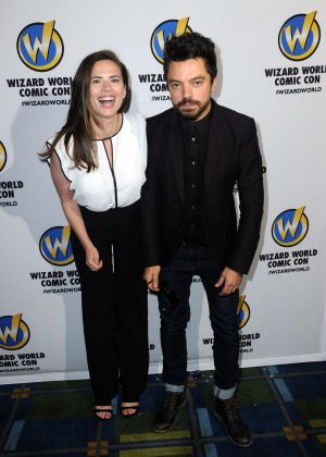 Hayley Atwell - Wizard World Comic Con 2016 in Philadelphia